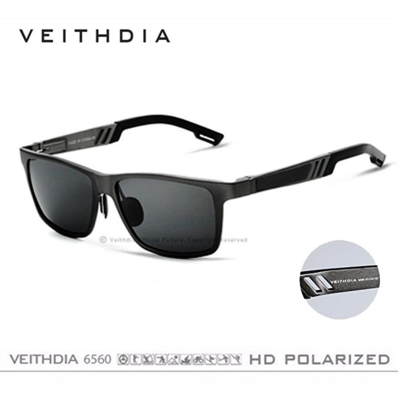 mejor valor 9473c 62e4d Lentes Polarizado Uv400 Aluminio V6560 Negro